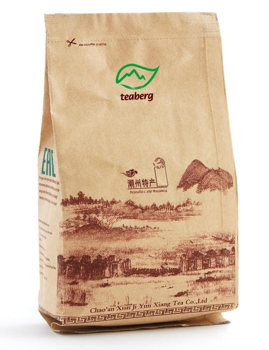 Стограммовый пакет чая Тиберг.